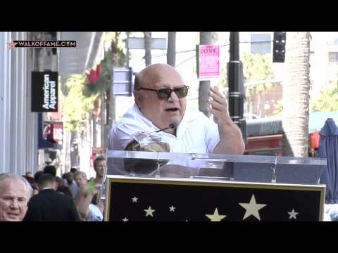 Danny DeVito Walk of Fame Ceremony