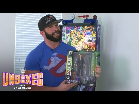 """Zack Ryder gets slimed by Diamond Select Toys' """"Ghostbusters"""" figures: WWE Unboxed with Zack Ryder"""