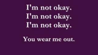 I'm Not Okay [I Promise] LYRICS Mp3