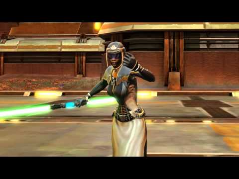 Picture from Star Wars: The Old Republic gameplay