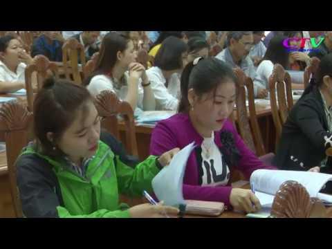 Tập huấn nghiệp vụ rà soát hộ nghèo, hộ cận nghèo năm 2018