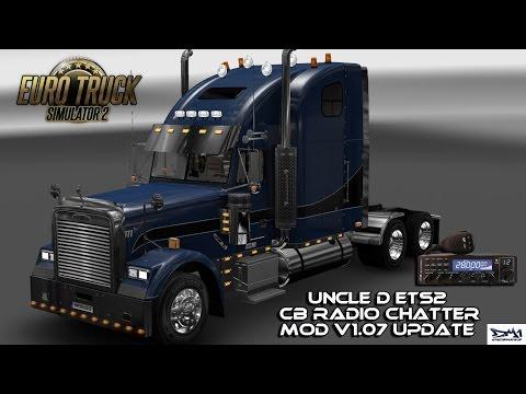 Uncle D ETS2 CB Radio Chatter Mod V1.07