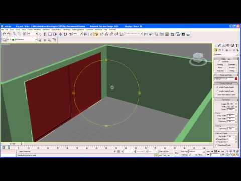3dsmax - The first part of the tutorial, creating the room. Subscribe for future updates on this.