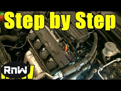 Honda Civic 1.7L SOHC Timing Belt, Tensioner, Water Pump Replacement Part 1