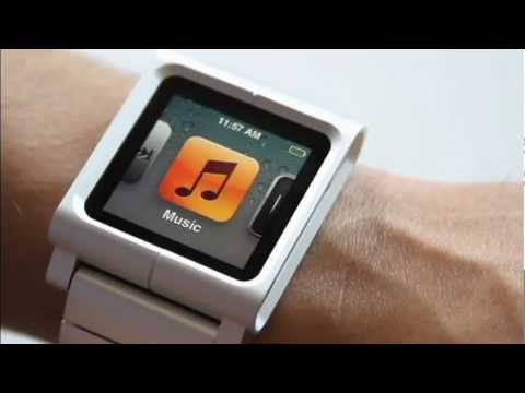ipod as a watch - The LunaTik Lynk is a jacket for iPod Nano, Here show you how to assembly the LunaTik with your iPod Nano. It become easy after watch this.For more ,visit ht...