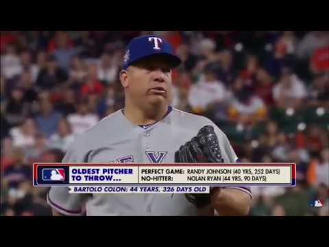 Bartolo Colon Flirts With Perfect Game into the 7th inning vs the Astros