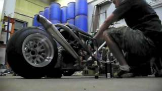5. Custom tubular frame ruckus style scooter with GY6 build/fab in progress