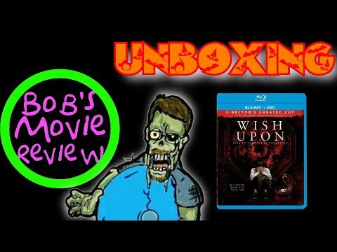 Wish Upon Blu-Ray Unboxing