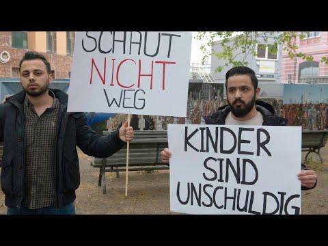 Berlin: Demonstration für die Rückkehr von Kindern vo ...