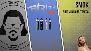 Сравниваем iJust и Brit One MEGA Kit и BRIT One Mini Kit