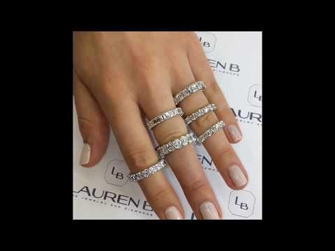 Lauren B Wedding Bands Collection