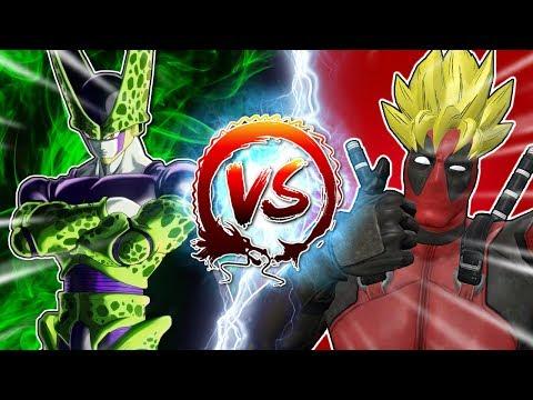 Deadpool VS Cell #CellGames | TeamFourStar