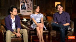 About Alex interview With Jason Ritter, Maggie Grace, Max Minghella and More [HD]