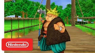 Man Up with Yangus in Dragon Quest VIII: Journey of the Cursed King