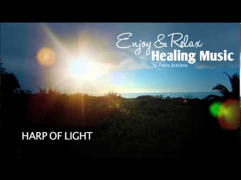 Beautiful Long Time Relaxing Music  (Harp of light)