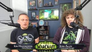 We sat down with Game Director Ion Hazzikostas to look back at the first few weeks of patch 7.2 and answer your questions about everything involved with the patch, including the Broken Shore, Legion Assaults, new and improved dungeons, and more.