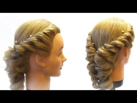 Видео прически с плетением онлайн