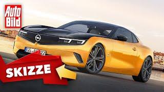 Opel Manta E (2020): Neuvorstellung - Skizze - Elektro - Coupé - Infos by Auto Bild