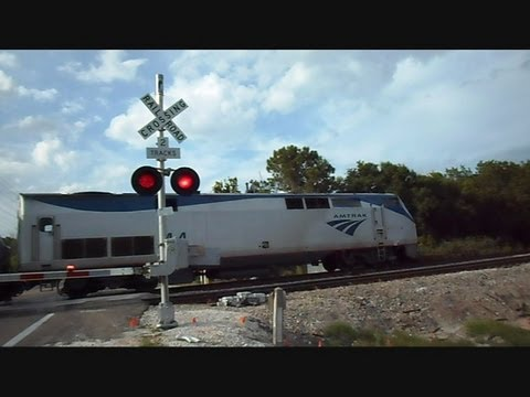 CSX locomotive - This is a video I made on Airport Rd in Lakeland Florida of Amtrak Train the Silver Star being followed by a CSX Locomotive. Amtrak doing 80 MPH CSX Locomoti...