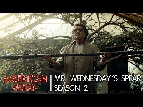 Mr. Wednesday's Spear | American Gods - Season Two