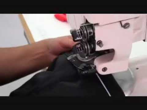 1250/2 Bay Bayan Pantolon Kemer Altı Gizli Dikiş Makinesi (Kilit Dikiş)