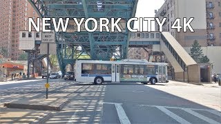 New York (NY) United States  City new picture : Driving Downtown - Harlem - New York City NY USA