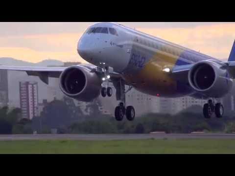 Embraer E190-E2 - первый полет - Центр транспортных стратегий