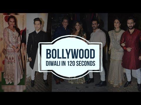 Bollywood Diwali in 120 secs | Deepika Padukone | Kareena Kapoor Khan |  Shilpa Shetty