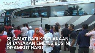 Video Selamat dari Kecelakaan di Tanjakan Emen, 2 Bus Ini Disambut Haru MP3, 3GP, MP4, WEBM, AVI, FLV Februari 2018