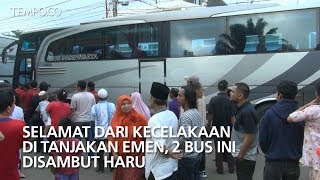 Video Selamat dari Kecelakaan di Tanjakan Emen, 2 Bus Ini Disambut Haru MP3, 3GP, MP4, WEBM, AVI, FLV Juli 2018