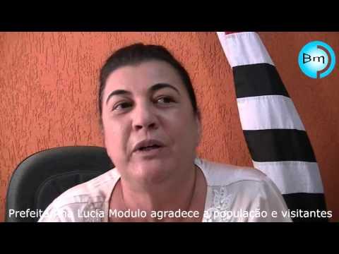 Vitória Brasil - Prefeita agradece a população e diz que caixão deixado em frente a Prefeitura não é protesto e sim macumba, e ofendeu a religiosidade do povo de Vitória Brasil.