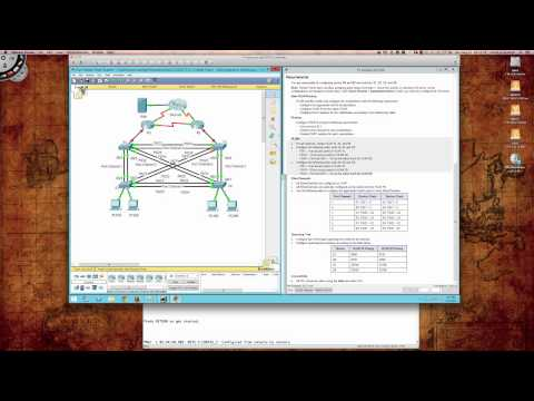 8XX - The following video will walk you through the PacketTracer 3.3.1.2 activity and demonstrate all configuration steps. Note that this activity is for the Cisco...