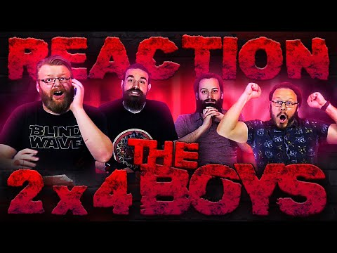 "The Boys 2x4 REACTION!! ""Nothing Like It in the World"""