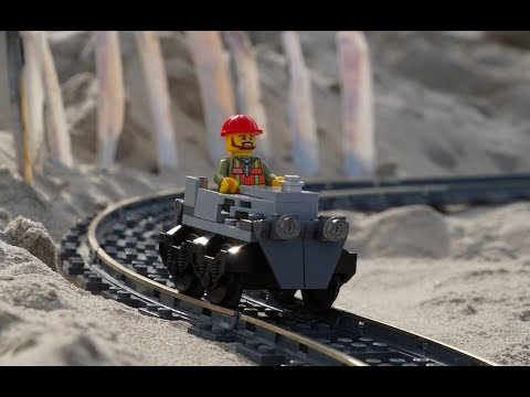 A Sandy Seaside LEGO Roller Coaster Journey Through The Outer Banks of North