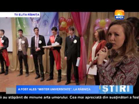 """AICI TV  A FOST ALES """"MISTER UNIVERSITATE"""" , LA RÂBNIȚA"""