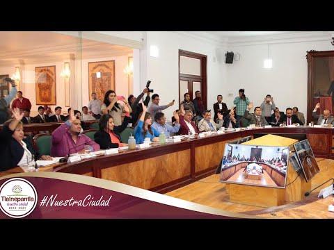 Cabildo H. Ayuntamiento de Tlalnepantla de Baz 10 septiembre del 2019