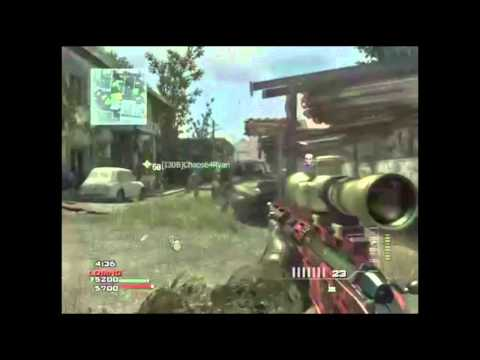 lewi2843 - An epic throwing knife across the map on fallen on COD:MW3! subscribe :)