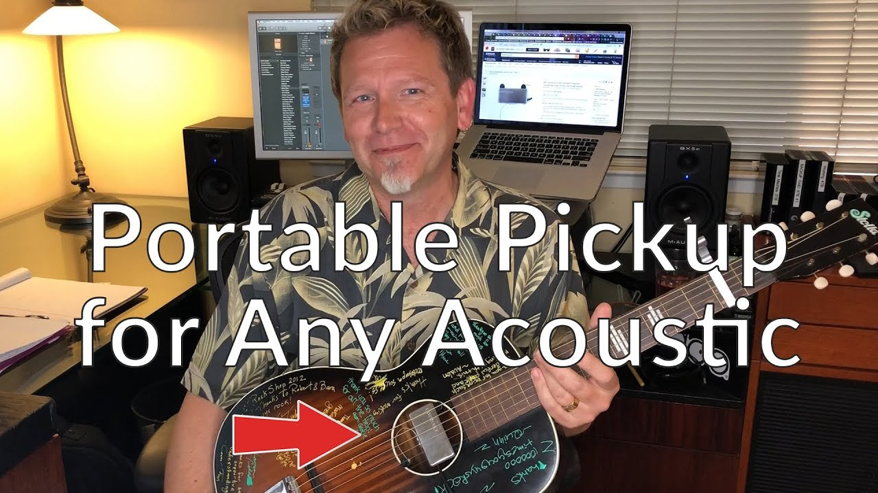 Portable Pickup for any Acoustic Guitar – Guitar Discoveries #14