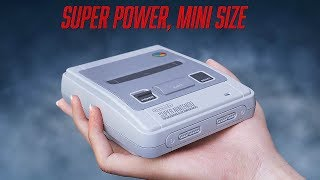 ►► Select 1080p HD for Best Quality ◄◄Step back into the 90s and re-experience a timeless classic with Nintendo Classic Mini: Super Nintendo Entertainment System. The Mini: SNES has the same look and feel of the original system – only smaller – and comes pre-loaded with 21 games.Comes pre-loaded with 21 games: Contra III: The Alien Wars, Donkey Kong Country, EarthBound, Final Fantasy III, F-ZERO, Kirby Super Star, Kirby's Dream Course, The Legend of Zelda: A Link to the Past, Mega Man X, Secret of Mana, Star Fox, Star Fox 2, Street Fighter II Turbo: Hyper Fighting, Super Castlevania IV, Super Ghouls 'n Ghosts. . .. . . Super Mario Kart, Super Mario RPG: Legend of the Seven Stars, Super Mario World, Super Metroid, Super Punch-Out! ! , and Yoshi's Island. The inclusion of the never-before-released Star Fox 2 will offer something entirely new to enjoy. Several games have multiplayer options, including Street Fighter II Turbo: Hyper Fighting and Super Mario Kart.