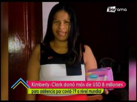 Kimberly Clark donó más de USD 8 millones para asistencia por covid-19 a nivel mundial