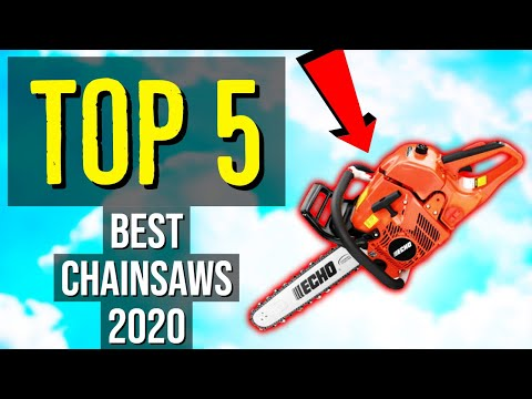 ✅ TOP 5: Best Chainsaw 2020