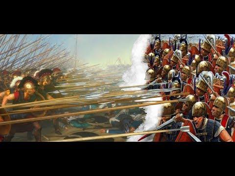"Mis videos: ""Batalla:  Cinoscéfalas (197 a.C.). Falange macedonia vs Legión romana"""