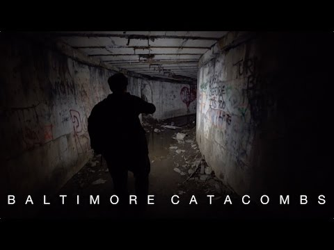 The Seediest, Creepiest Place In Town : The Baltimore Catacombs At Fort Armistead Park