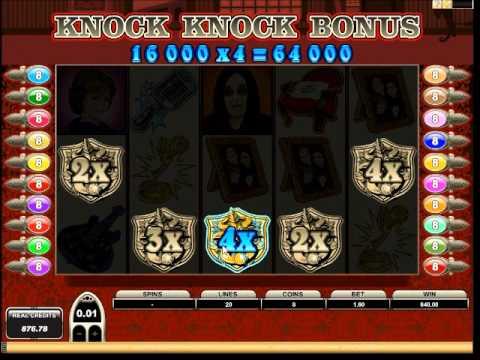 The Osbournes Slot - Knock Knock Bonus - Mega Big Win