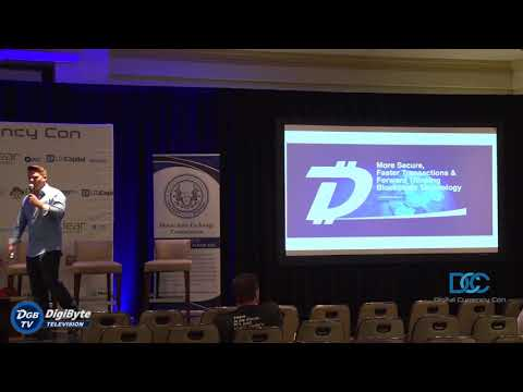 Jared Tate Presents Digibyte At Digital Currency Con July 2018