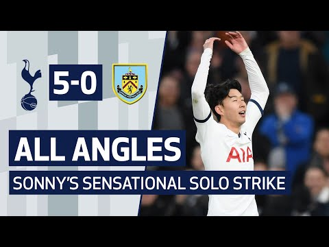 FIFA PUSKAS AWARD NOMINEE | HEUNG-MIN SON | ALL ANGLES OF SONNY'S SENSATIONAL BURNLEY SOLO STRIKE