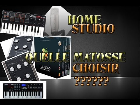 comment monter home studio