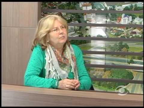 Vídeo Entrevista com Leila Kauffmann, presidente da Associação dos Artesãos de Lajeado