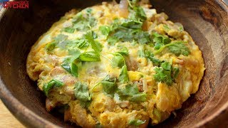 Oyakodon is a Japanese chicken and egg (translated literally into parent-and-child) dish and after watching a couple of...