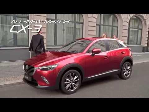 สวยบาดใจ โฆษณา Mazda CX-3 ใหม่ล่าสุดจากมาสด้า เตรียมเปิดตัวและเข้าไทยปี 2015